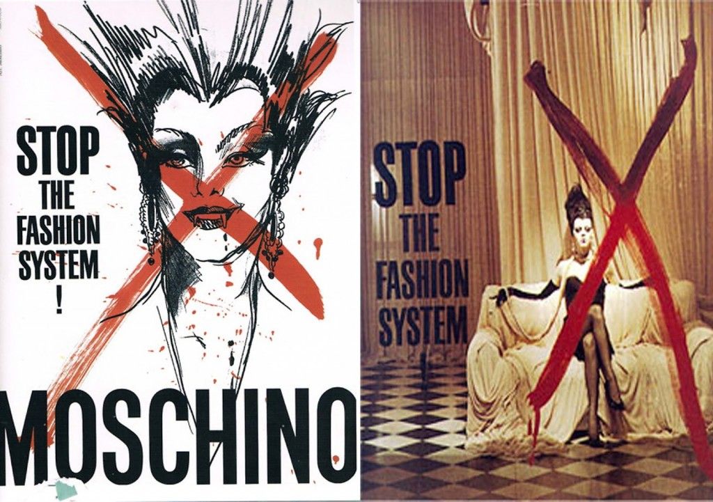 1990 Stop the fashion system campaign